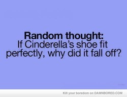 Random thought: 