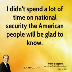 I didn't spend a lot of 