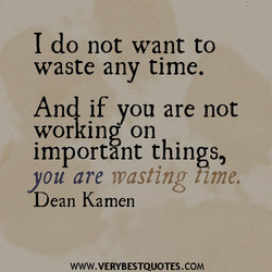 I do not want to 