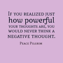 IF YOU REALIZED JUST 