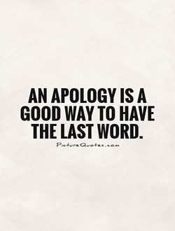 AN APOLOGY A 