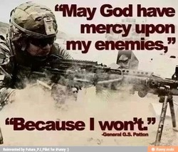 'May God hae 
