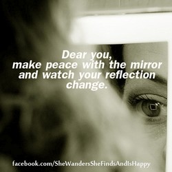 Dear you, 