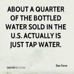 ABOUT A QUARTER 