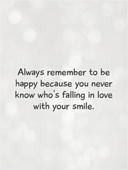 Always remember to be 