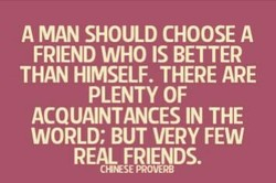 A MAN SHOULD CHOOSE A 