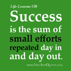 Life-Lessons #30 