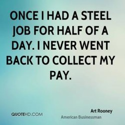 ONCE I HAD A STEEL 