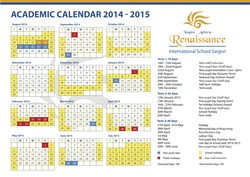 ACADEMIC CALENDAR 2014 - 2015 