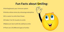 Fun Facts about Smiling: 