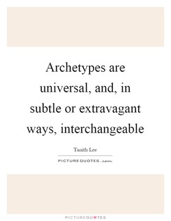 Archetypes are 
