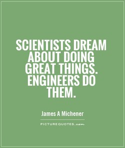 SCIENTISTS DREAM 
