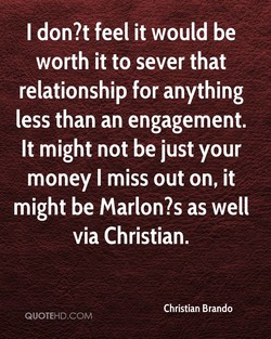 I don?t feel it would be 