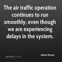 The air traffic operation 