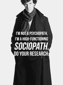 I'M NOT A PSYCHOPATH, 
