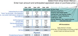 Select from Drop Down Menus 