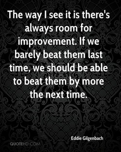 The way I see it is there's 