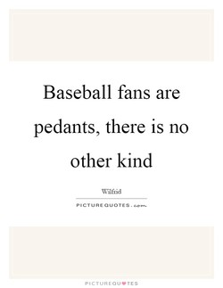 Baseball fans are