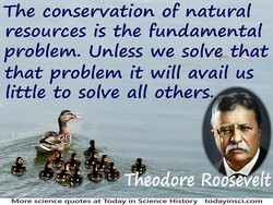 The conservation of natural 