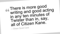There is more good 
