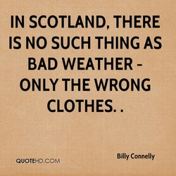 IN SCOTLAND, THERE 