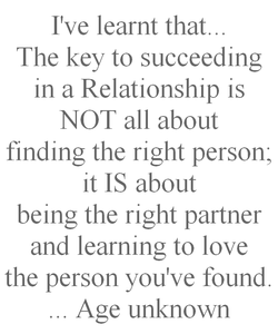 I've learnt that. 