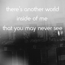 there's another world 