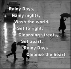 -Rainy Days, 