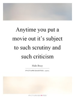 Anytime you put a 