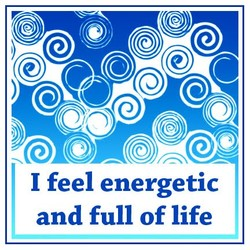 1 feel energetic 