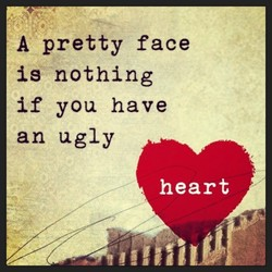 A pretty face 