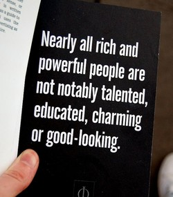 Nearly all rich and 