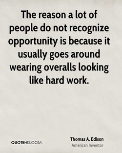 The reason a lot of 