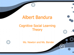 Albert Bandura 
