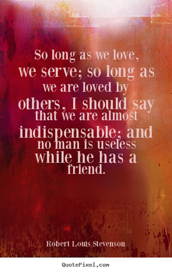 So long aswe love, 