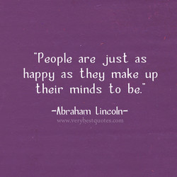 People are just as 