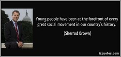 Young people have been at the forefront of every 