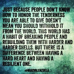 JUST BECAUSE PEOPLE DON'T KNOW 