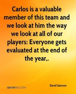 Carlos is a valuable 