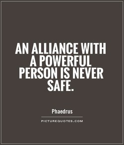 AN ALLIANCE WITH 