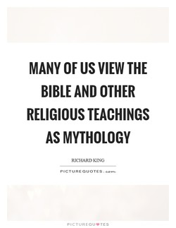 MANY OF US VIEW THE 