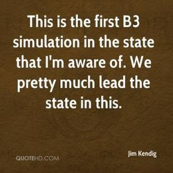 This is the first B3 