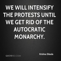 WE WILL INTENSIFY 