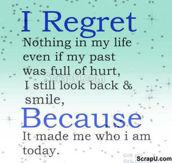 I Regret 