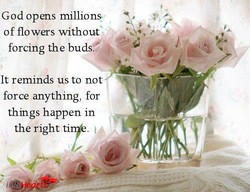 God opens millions 