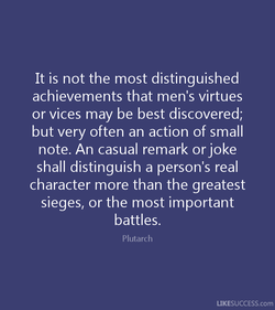 It is not the most distinguished 