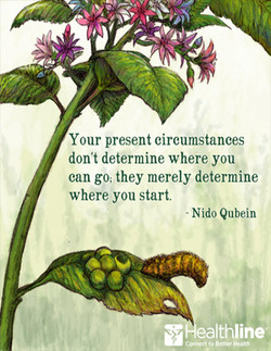 Your present circumstances 