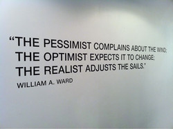 ' 'THE PESSIMIST COMPLAINS ABOUT THEWIND; 