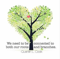 We need to be' connected to 