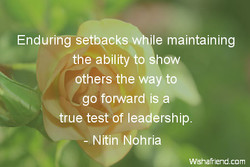 Enduring-setbpcks 